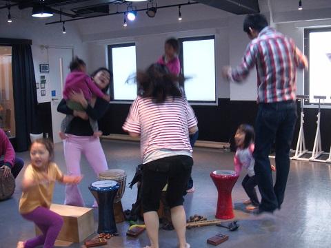 Flow Naturally主催 親子で楽しむダンスクラス@横浜