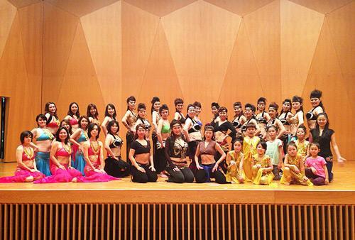 1月26日Umiのいえ主催しあわせのはじまりに向けてダンスリハーサル。